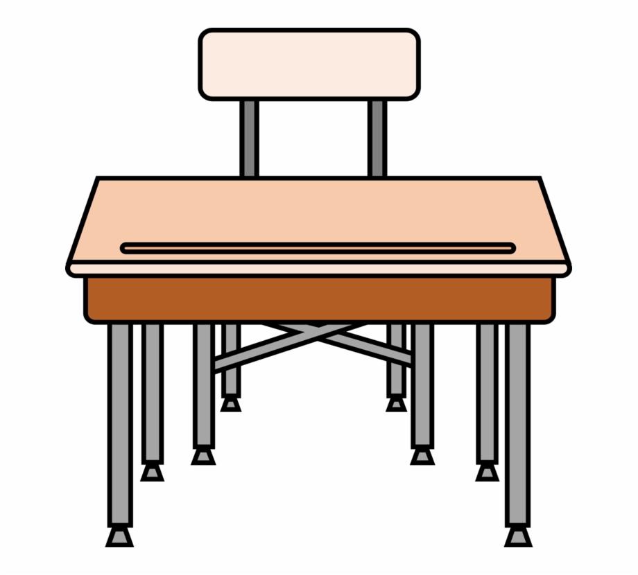 Table Computer Desk Pencil School.