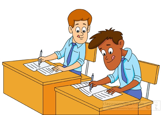 Teacher Exam Cliparts.