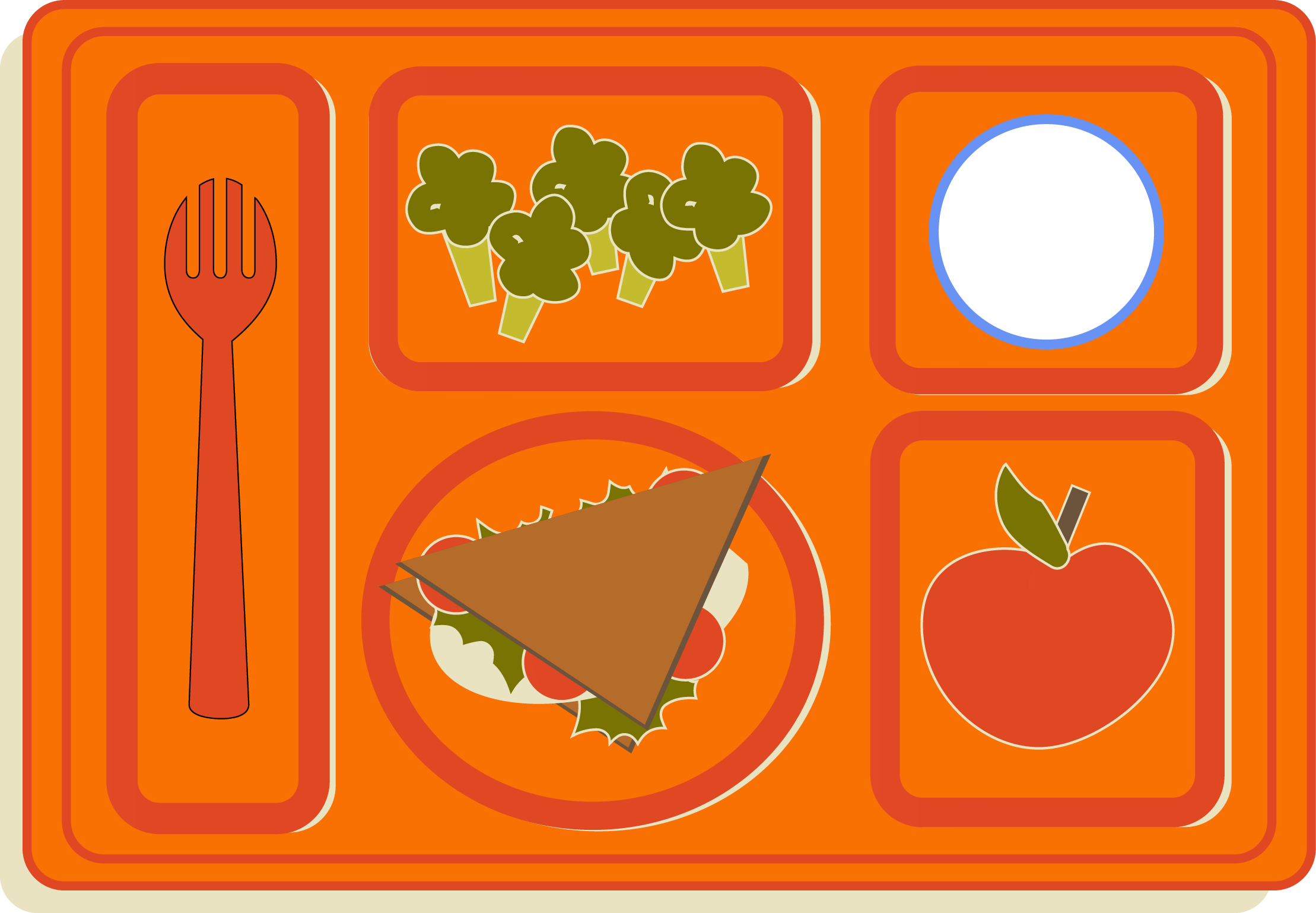 School Food Clipart.