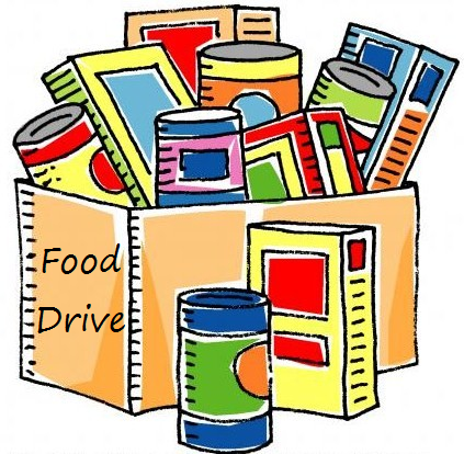 Food Drive Clipart No Png.