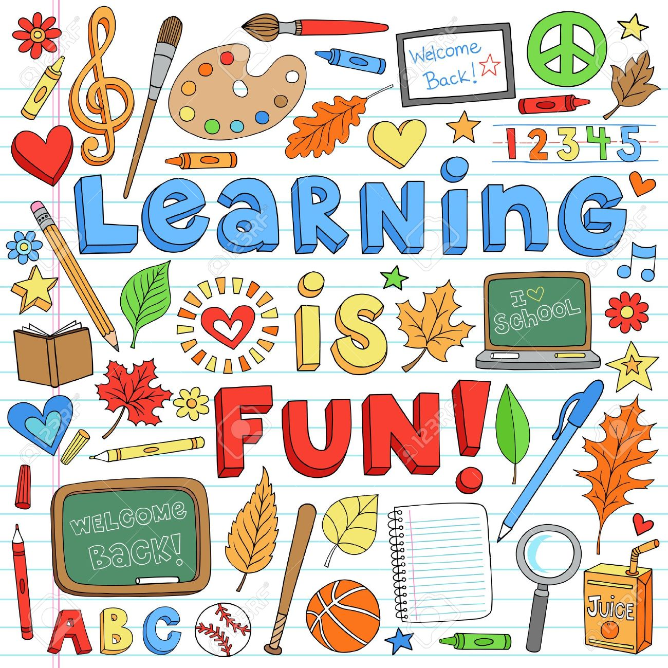 Learning Is Fun Clipart.