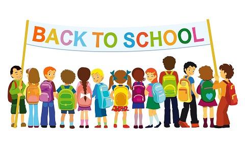 Summer Ending! School Begins This Week! Welcome Back Students.