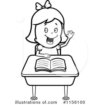 School Girl Clipart #1156100.