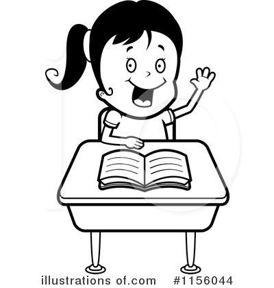 School Girl Clipart #1156044.