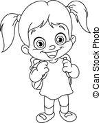 Schoolgirl Illustrations and Clipart. 4,731 Schoolgirl royalty.