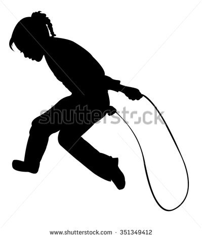 Kids Jumping Rope Stock Images, Royalty.