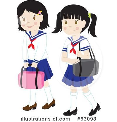 School Girl Clipart #63093.