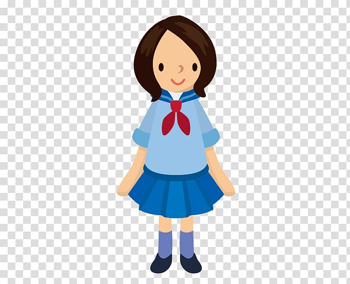 Cartoon Graphic arts , Middle School Girls transparent.