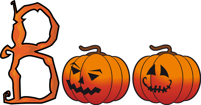 School Halloween Clipart.
