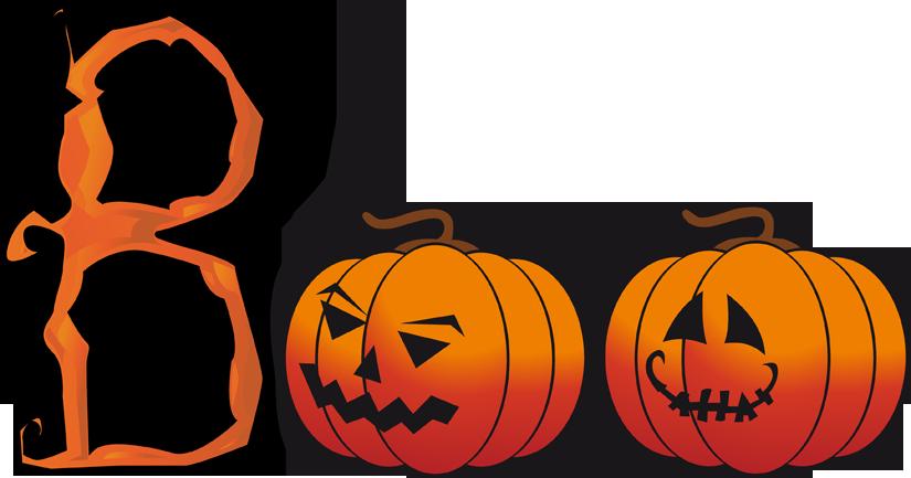 School Halloween Clipart.