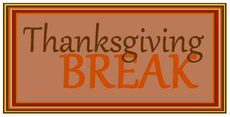 No School Thanksgiving Clipart.