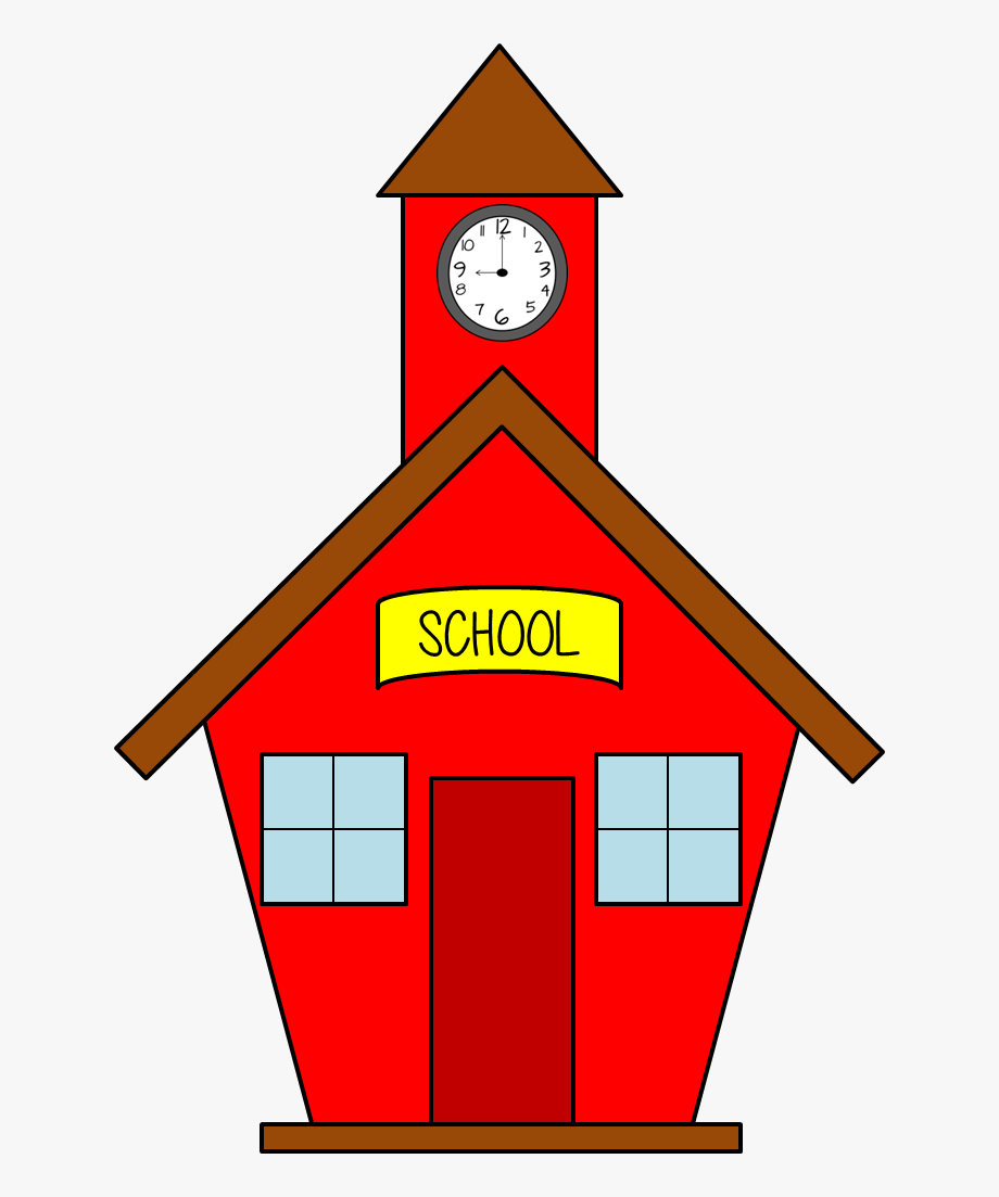 School House Clip Art Back To School Free Owls And.