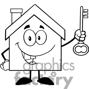 School House Clipart Black And White.