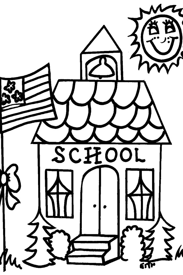 Picture Of A School House.