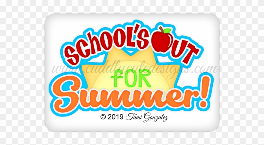 School\'s Out Title Clipart (#4954064).