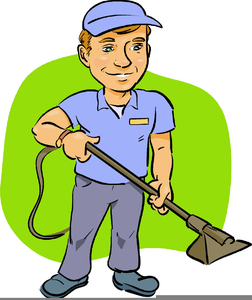 School Janitor Clipart.