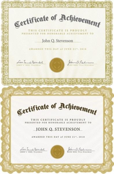 school leaving certificate clipart