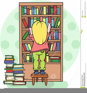 School Library Clipart.
