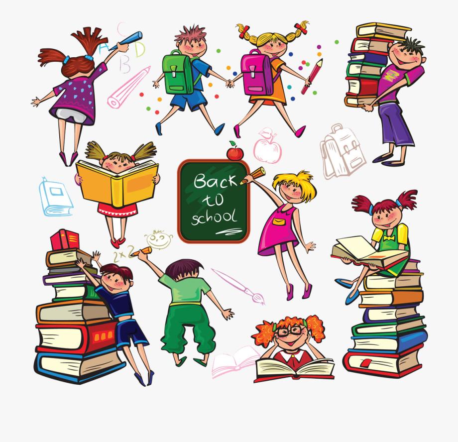 Cartoon Children Transprent.