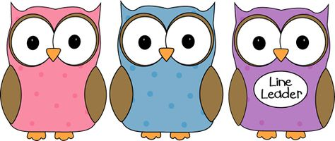 Owl Classroom Line Leader.