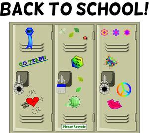 Clipart School Locker.