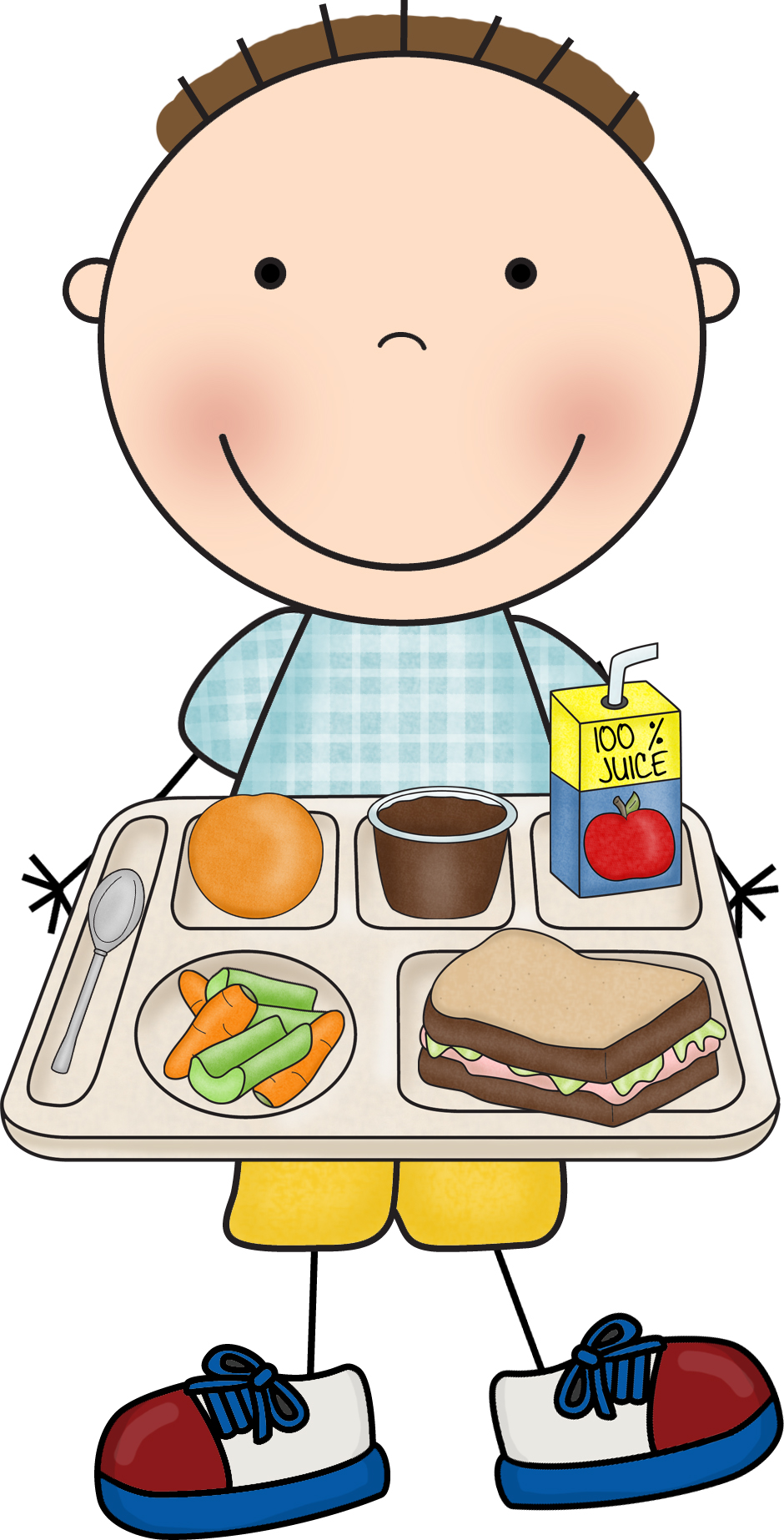35+ School Lunch Clipart.