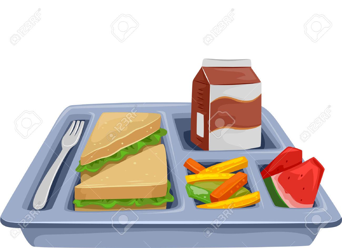 Clipart lunch lunch tray, Clipart lunch lunch tray.