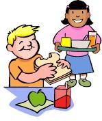 School Cafeteria Clipart.