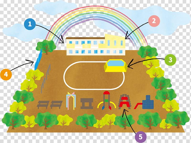 Junior High School, Kindergarten, Text, Map, Institute.
