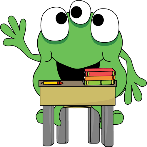 School Monster Clipart.