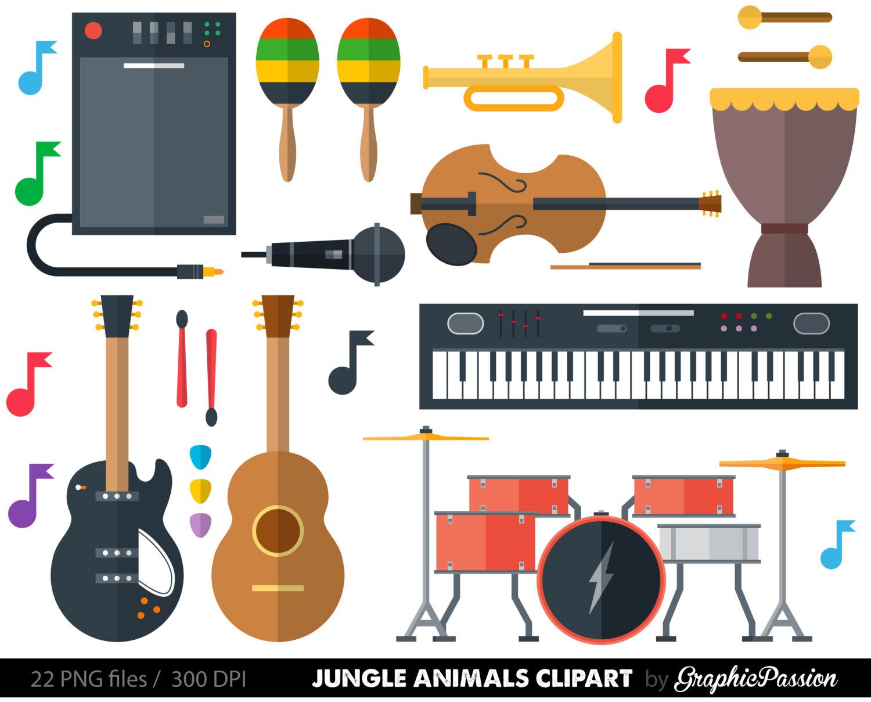 Musical Instrument Clipart Clip Art music clipart music clip art.