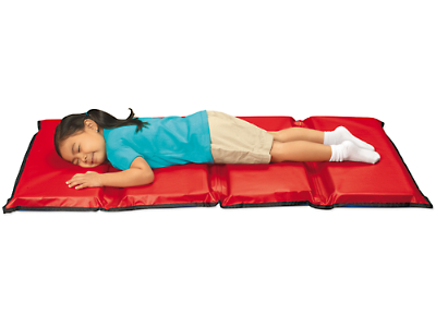 Indestructible Folding Rest Mat at Lakeshore Learning.