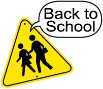 Education World: Newsletter Clipart: August.