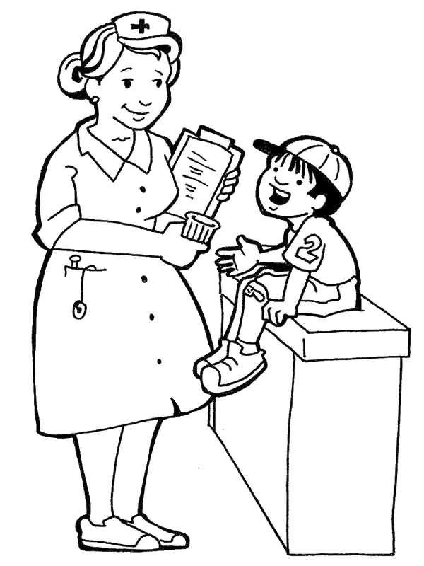 School Nurse Clipart.