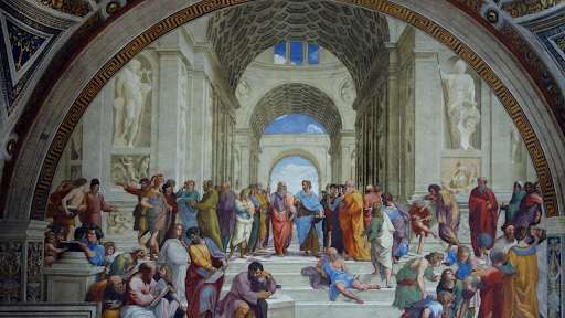 Raphael, School of Athens (article).