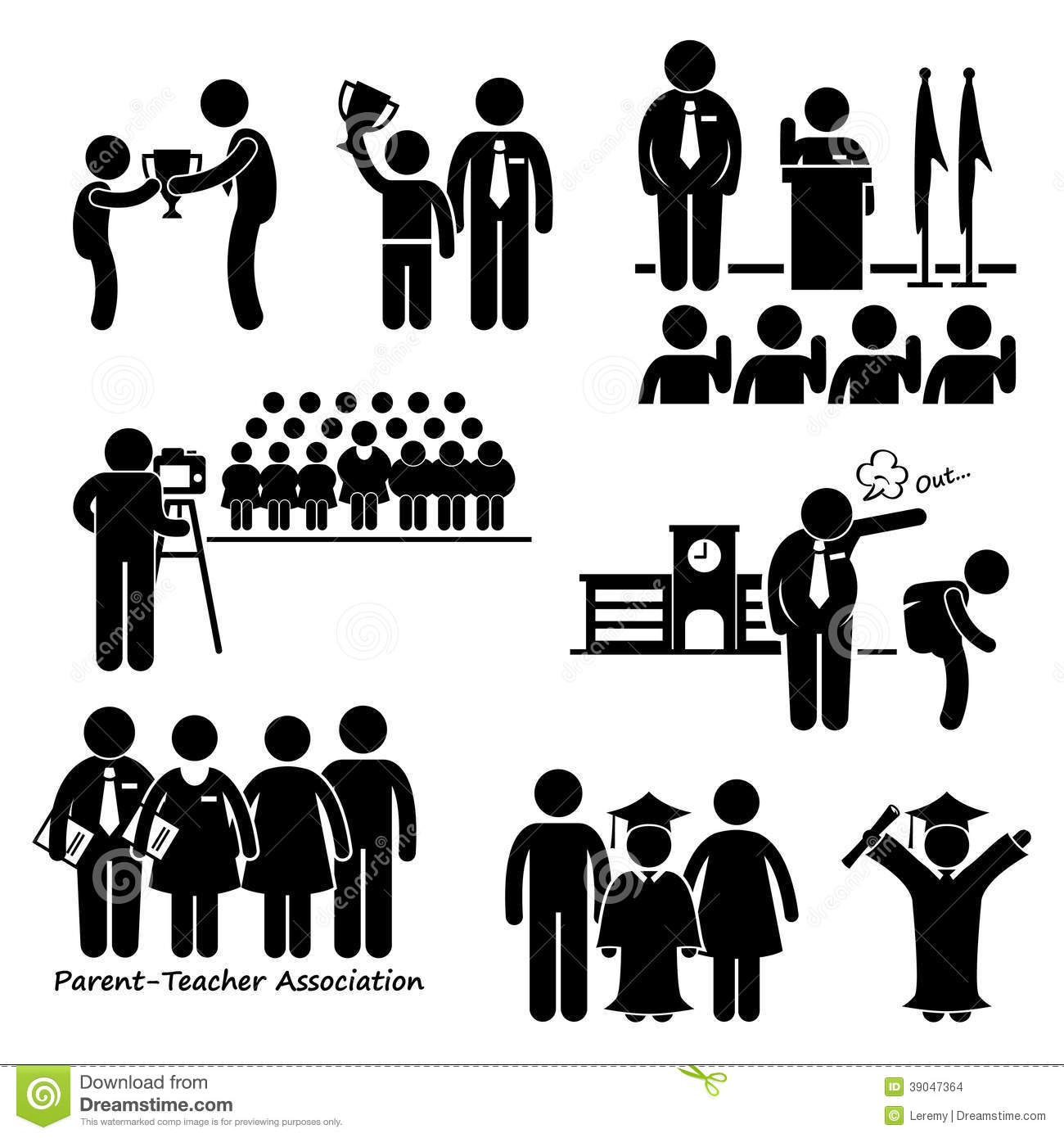 Business Activity Clipart.