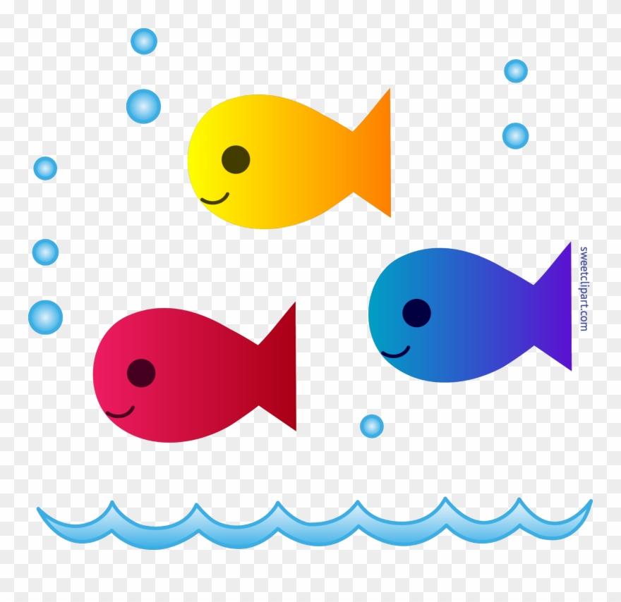 Cute School Fish Clipart.