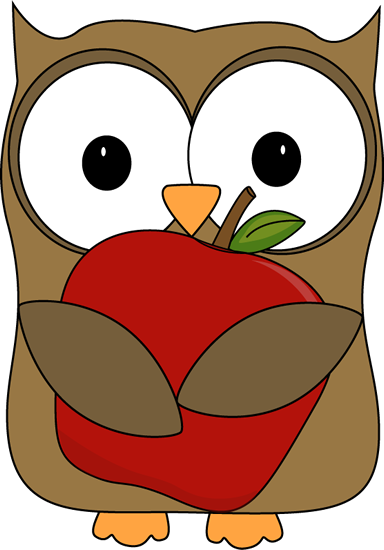 Owl Typing Cliparts.
