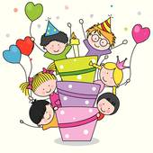 School Party Clip Art.