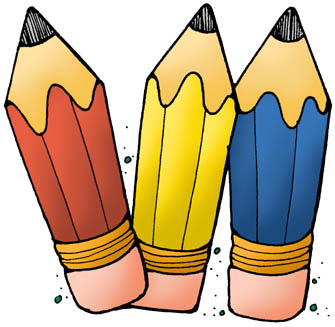 School pencil clipart 2.