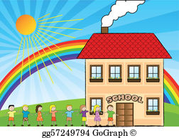 Children School Clip Art.