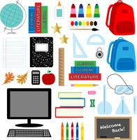 School Clipart Free Vector Art.
