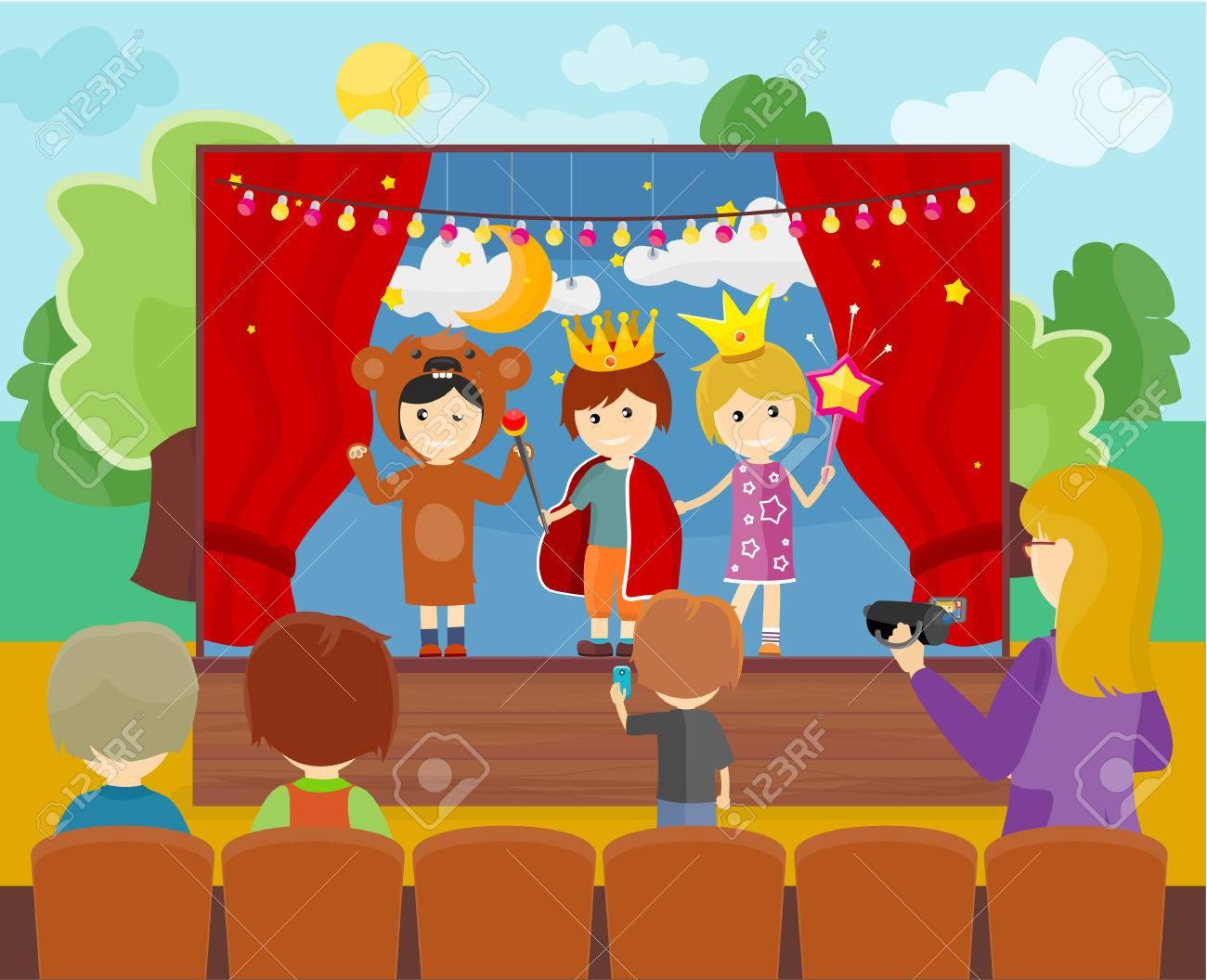 Theatre clipart school play.