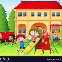 school playground clipart.