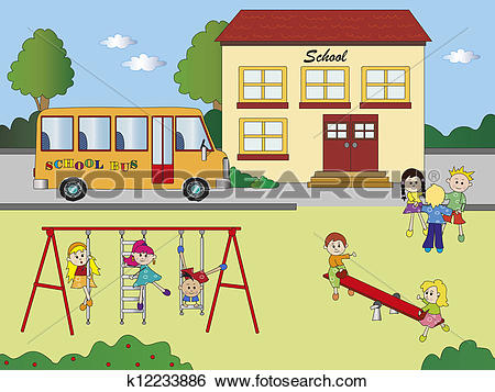 School playground clipart 10 » Clipart Station.