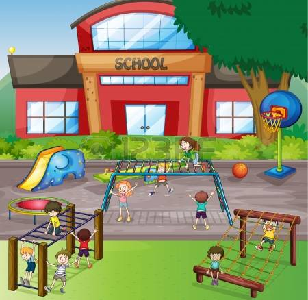 School playground clipart 12 » Clipart Station.