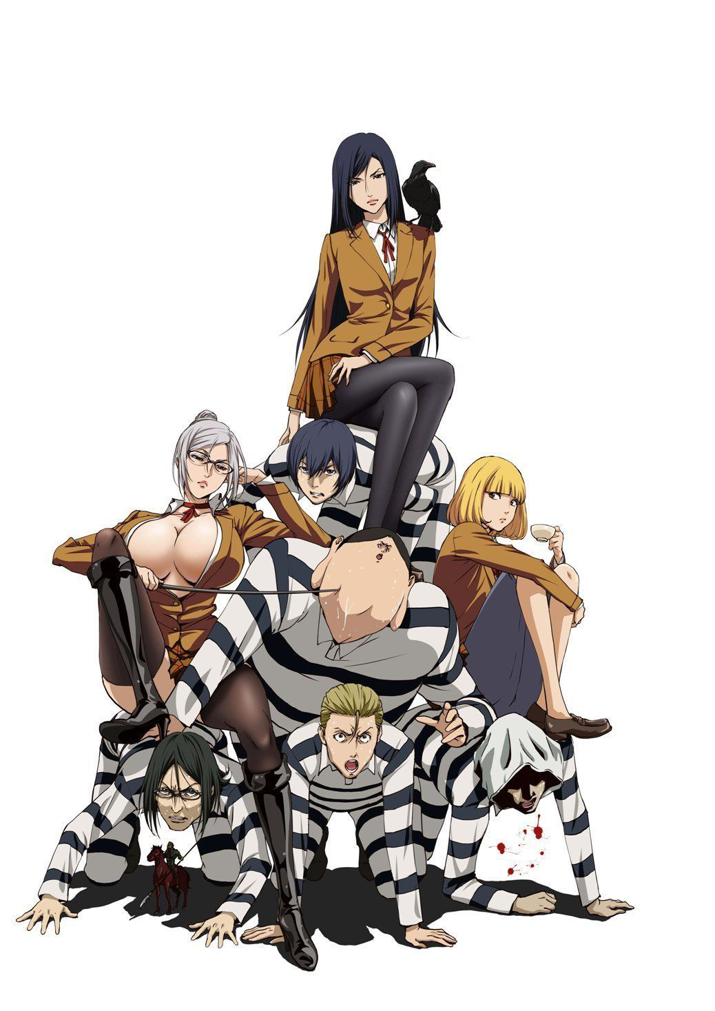 Prison School. Awesome anime and manga..