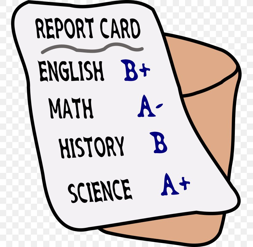 Report Card School Grading In Education Clip Art, PNG.