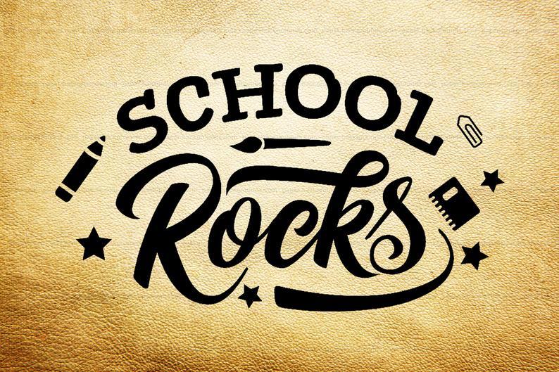 Clipart school rock, Clipart school rock Transparent FREE.