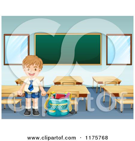 School rooms clipart.